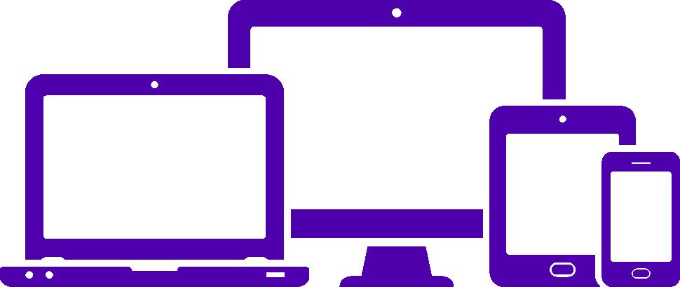 Site único e responsivo